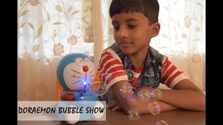 Doraemon Bubble Blowing Bubbles Music & Light Toys for Kids