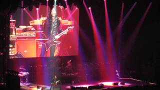 Ozzy's Gus G. rips a solo, Vancouver, BC - Nov. 14th 2010