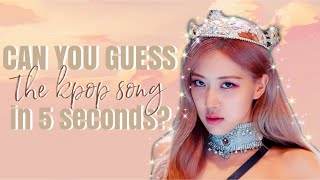 can you guess the kpop song in 5 seconds? // 2019 songs edition