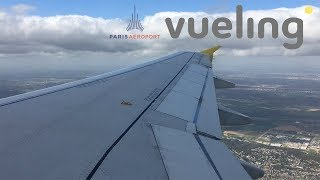 Vueling A320 Takeoff from Paris Orly (60 FPS)