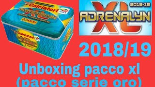 Unboxing pacco  pacco serie oro