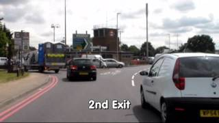 Wanstead Test Centre Routes - Redbridge Roundabout